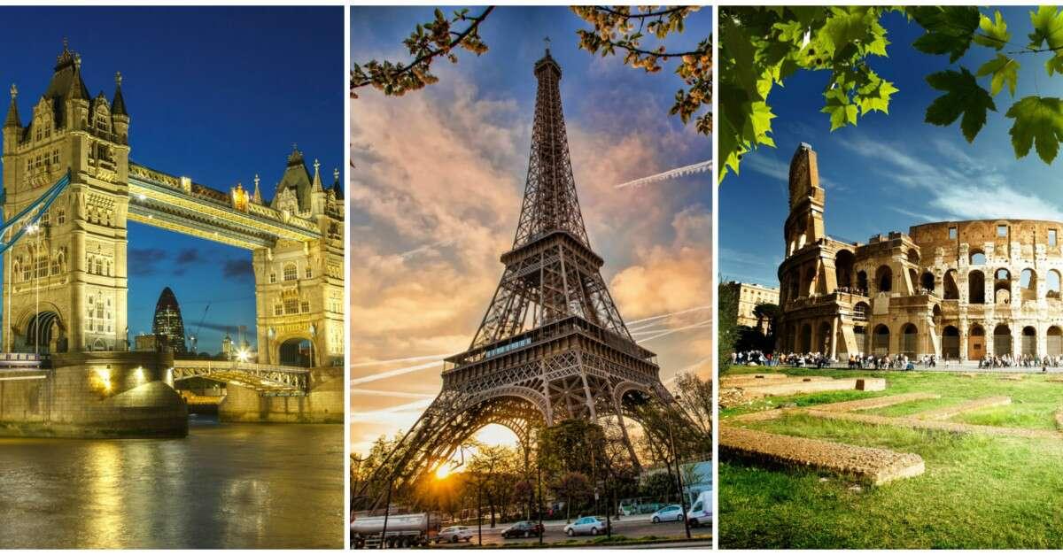 Londres, París e Italia