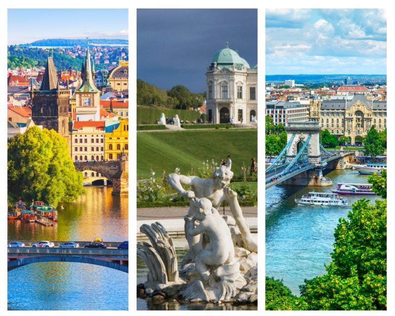 Viena Budapest Praga
